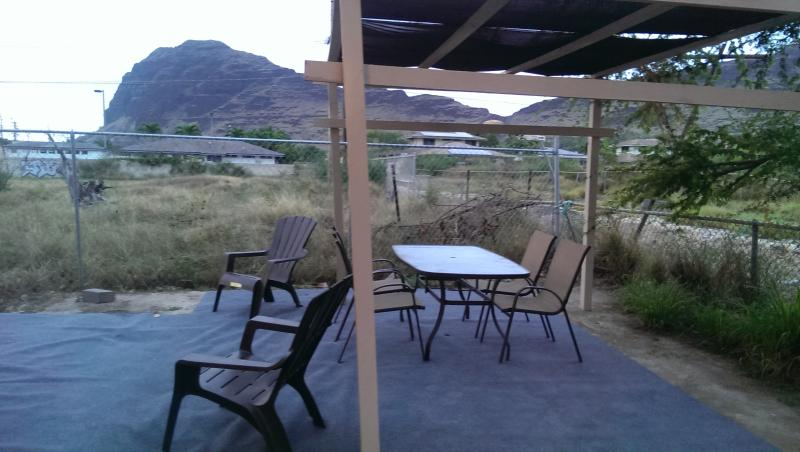 Steps To Beach Peak Ocean View With Outdoor Gazebo Next To Beach And Shops - Image 1 - Waianae - rentals