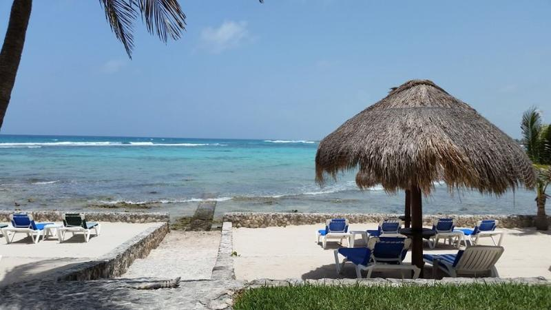 Half Moon Bay outside your door! - Beautiful Half Moon Bay Views From Every Room. AC - Akumal - rentals