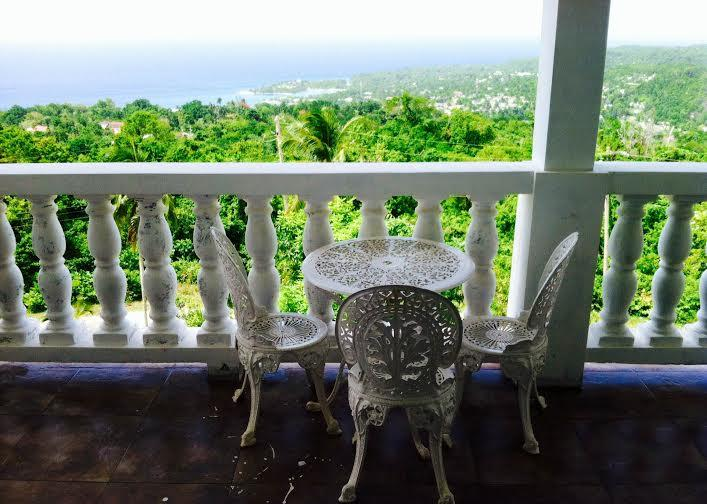Balcony and view from floor 2  - Gibraltar Heights Villa - Saint Mary Parish - rentals