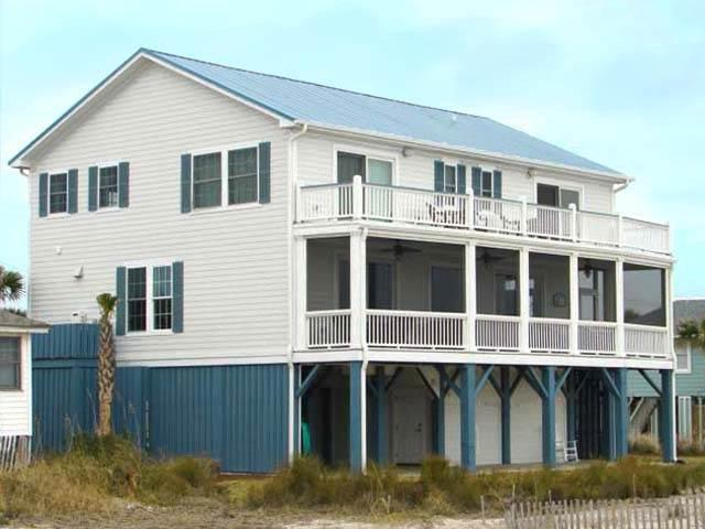 "614 Palmetto Blvd. - ""Blue Crab Inn"" - Image 1 - Edisto Beach - rentals"