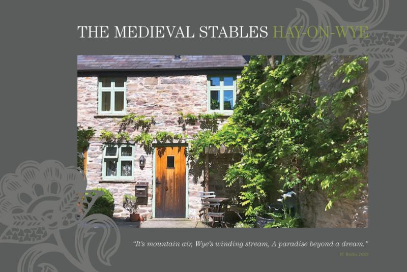 'Its mountain air, Wye's winding stream, a paradise beyond a dream.' W. Wallace 1930 - Hideaways In Hay: The Sweetest of Holiday Cottages - Hay-on-Wye - rentals