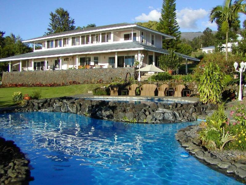 5 acre estate with 2 pools and hot tub - Paradise Perfect Estate 2 pools-hot tub-Ocean View - Kailua-Kona - rentals