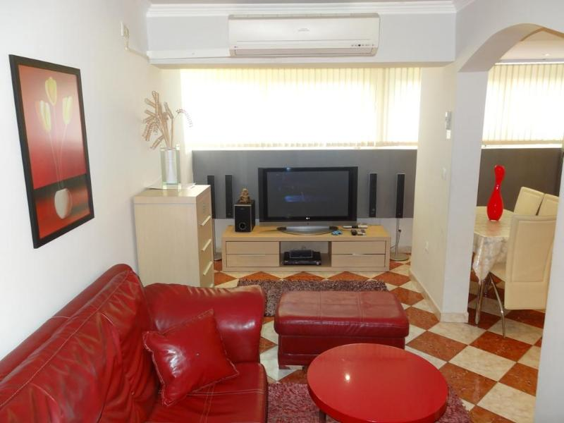 Living room - Apartment with 4 beds - Budva - Budva - rentals