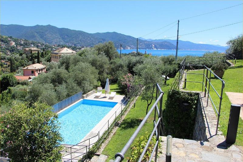 Villa Giotto with Private Pool.Santa Margherita - Image 1 - Santa Margherita Ligure - rentals