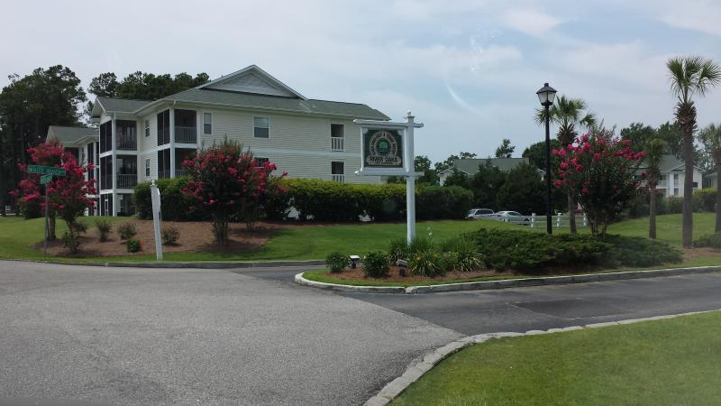 Condo Villa entrance - 2015 Snowbirds Avail Jan - May 1 Month or Multiple - Myrtle Beach - rentals