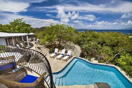On The Rocks- superb ocean views, near beach with pool & lush greenery - Image 1 - Virgin Gorda - rentals