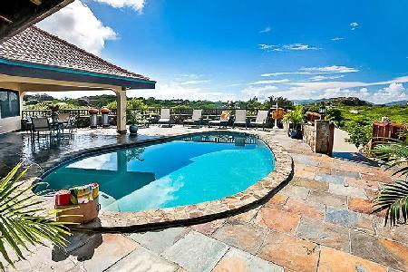 Mon Repos on over an acre of tropical grounds overlooking the ocean with pool - Image 1 - Virgin Gorda - rentals