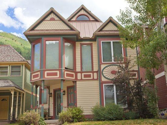 Bachman Village 26 Exterior - Bachman Village 26 - 4 Bd/ 3 Ba Telluride West End Home, Sleeps 10 - Located Downtown Telluride 1 block from Lift 7 and Clark`s Market - Telluride - rentals