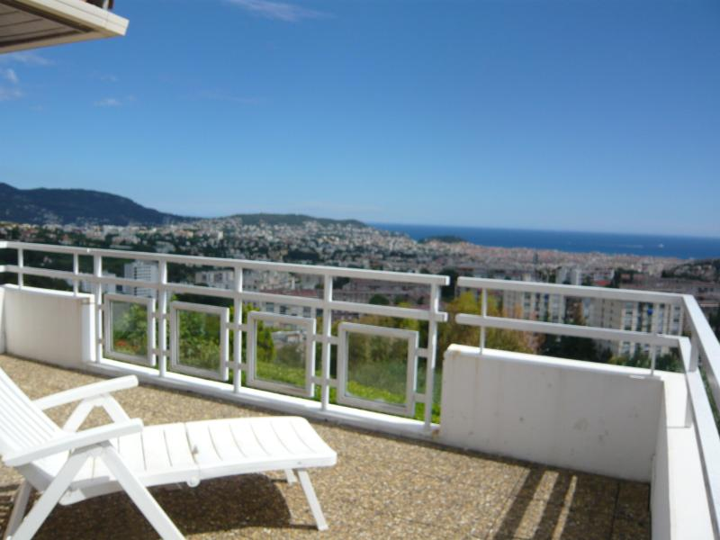 PANORAMIC TERRACE - Nice sea view villa - 15min beach - Nice - rentals