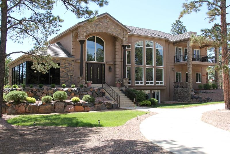 1 Main Entrance in Private Gated Community - Luxurious 7,288 sq Foot Home in a Gated Community - Colorado Springs - rentals