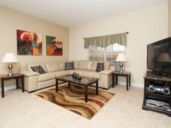 4 Bedroom 3 Bath Town Home In The Paradise Palms Resort. 8851CP - Image 1 - Orlando - rentals