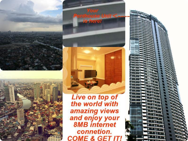 Elegantly Gorgeous 1BR in a 5 Star Penthouse Unit - Image 1 - Makati - rentals