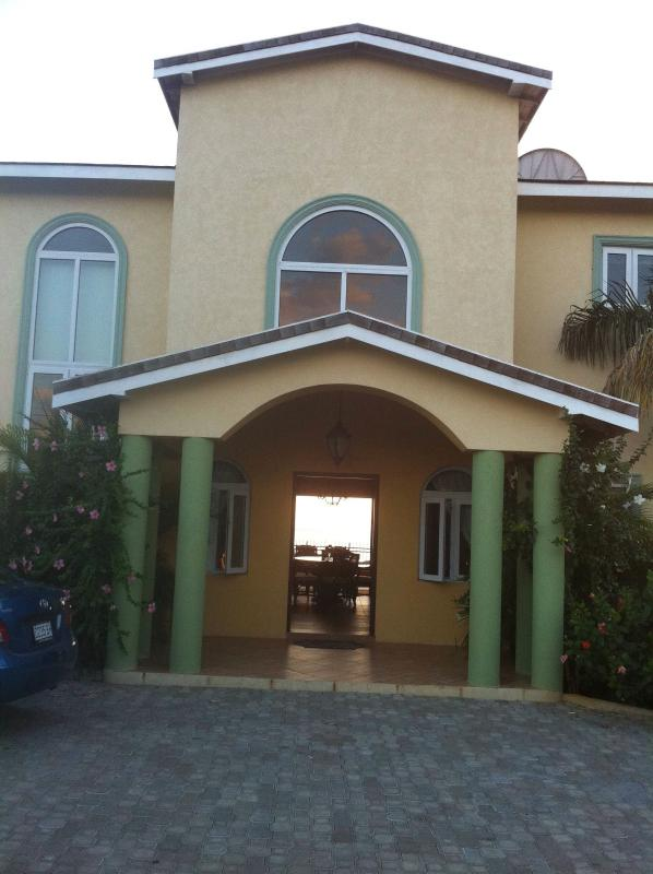 Entrance to Black River Sunset - Beautiful 3 Bed/Bath Villa Private Beach & Pool - Bluefields - rentals