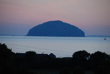 View from Front of House - Ailsa Craig - Ladybank House, Turnberry, Scotland. UK. KA269JJ - Turnberry - rentals