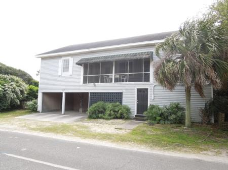 Front of House - A Summer Place - Folly Beach - rentals