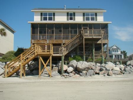 Exterior - Folly 'B' Golly - Folly Beach - rentals