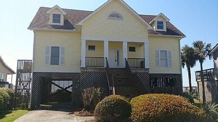 Front Exterior - Locura - Folly Beach - rentals
