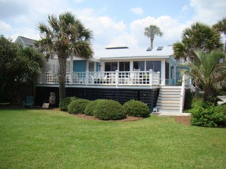Ocean side exterior - Love N Life - Folly Beach - rentals