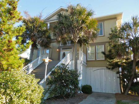 Street Side of Home - All Occasion House - Folly Beach - rentals