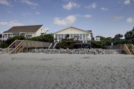 Exterior - Clervue Cottage - Folly Beach - rentals