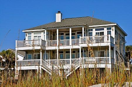 Gracious 5 Bedroom Oceanfront Home - Hakuna Matata - Folly Beach - rentals