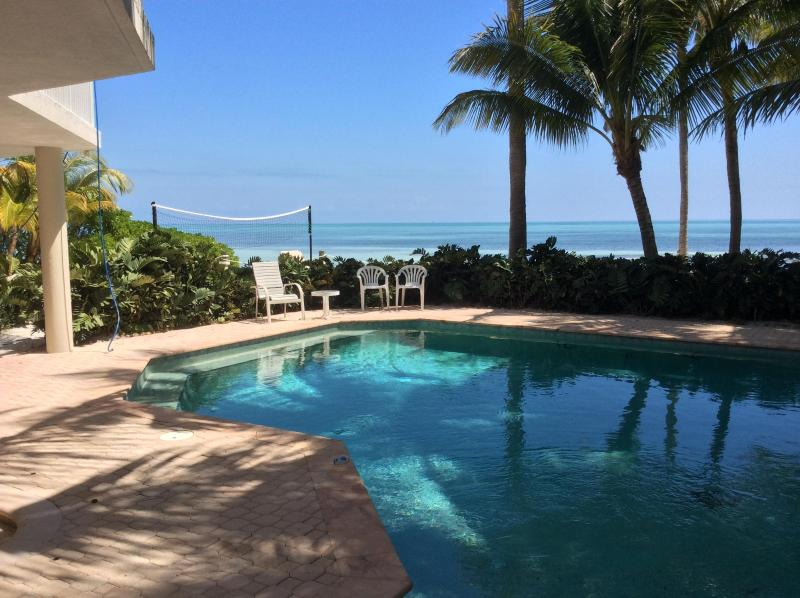 another pool day - Private Beachfront Paradise - Matecumbe Key - rentals