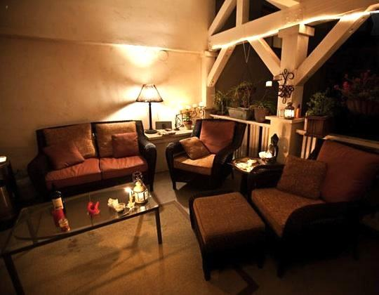 Patio at Night - Property not available - San Diego - rentals