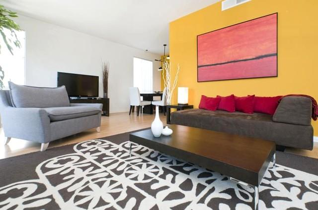 Living Area - Clark Ultimate Luxury Location - Los Angeles - rentals