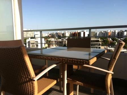 Beautiful view from the terrace - Excelent 1BDR Apto. Terrace, WTC Area Montevideo - Montevideo - rentals