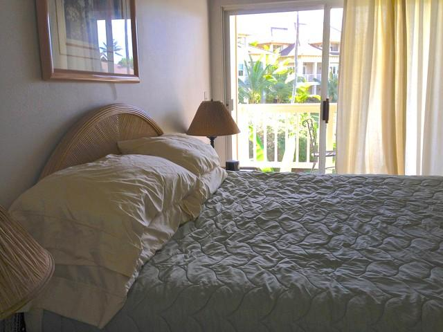 Two bedrooms with king beds overlooking garden - NEW SPECIALS! OCEAN VIEW, SHORT WALK TO THE BEACH!!! - Koloa - rentals