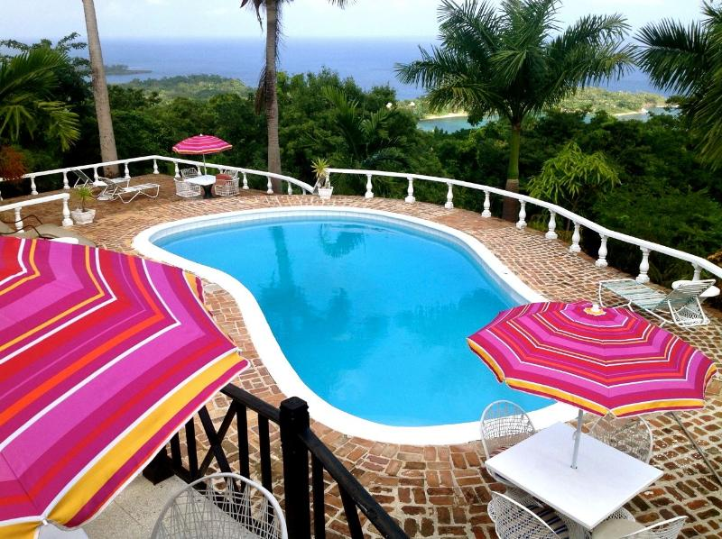the poolside - LaSolana Villas - Port Antonio - rentals