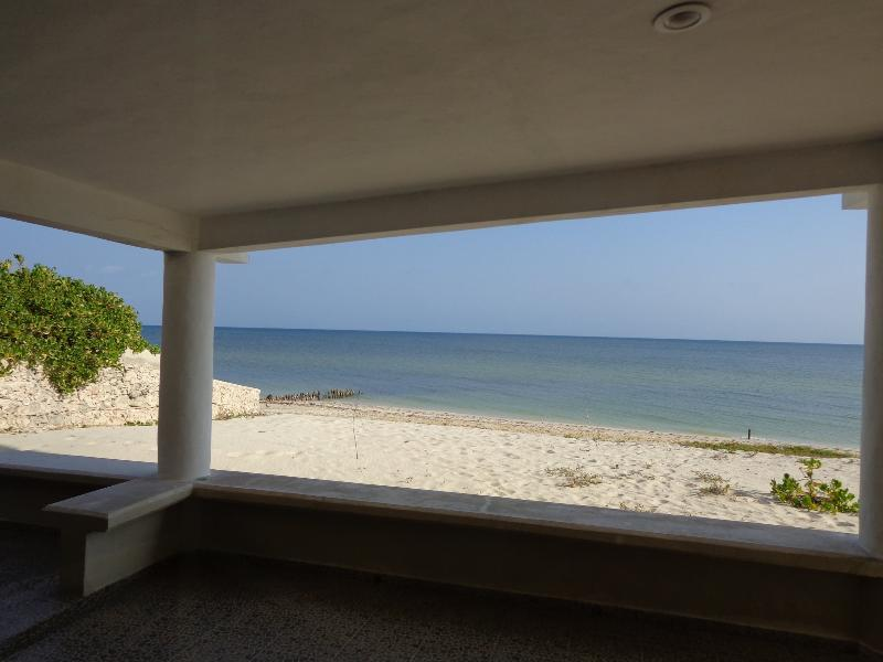Direct Oceanfront 2/2, Pool, A/C Immaculate Gated - Image 1 - Chuburna - rentals