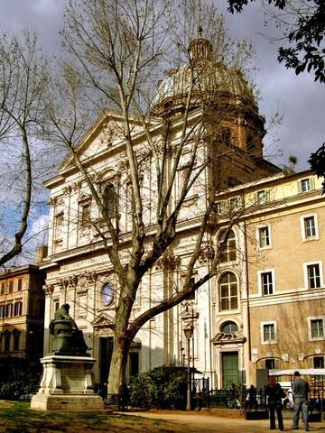 St. Biagio and Carlo ai Catinari in Piazza Benedetto Cairoli, close to the Rome rental apartment - da fare - Rome - rentals