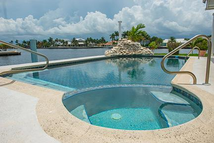 Intracoastal waterway tiled heated pool - Fabulous Villa on Intracoastal Waterway - Fort Lauderdale - rentals