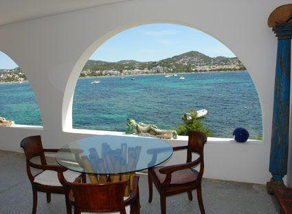 Extraordinary Ibiza Rental with Direct Beach Access, Talamanca - Image 1 - Ibiza - rentals