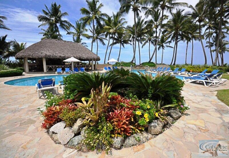 2 Bedroom Beachfront Condo with excellent Ocean breeze - CE1118 - Image 1 - Cabarete - rentals