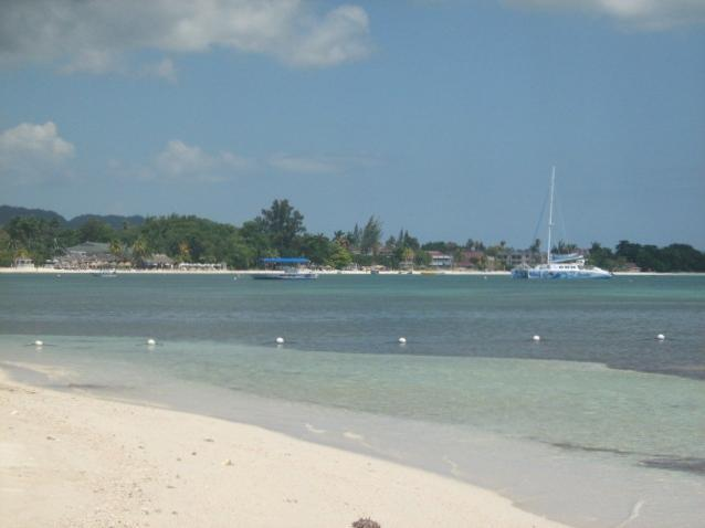 Sea Grapes by the shore,  Ocean view with. phone, cable,  internet, phone! - Image 1 - Negril - rentals