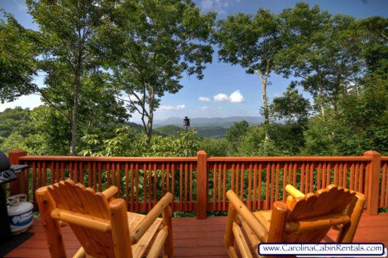Valle Crucis Overlook - How about sitting here to enjoy a cup of coffee - Valle Crucis Overlook - Boone - rentals