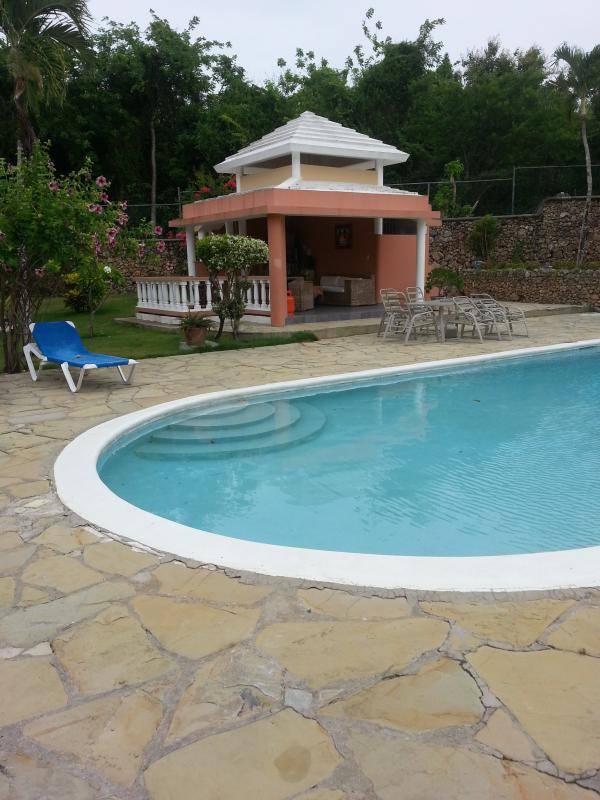 Poolhouse with BBQ - townhouse in gated project with beautiful poolarea - Sosua - rentals