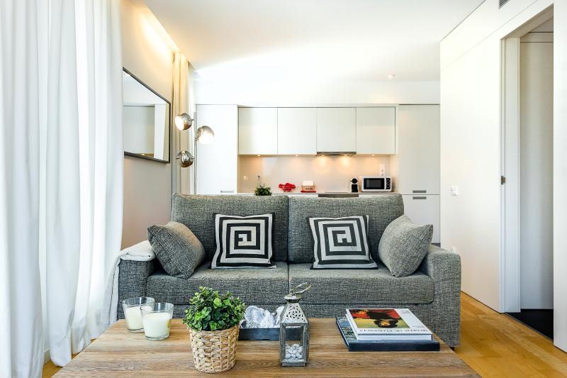 Main living room - Homearound Rambla Suite & Pool  23 (1BR) - 10% OFF LAUNCH PROMO & FALL Booking - Barcelona - rentals