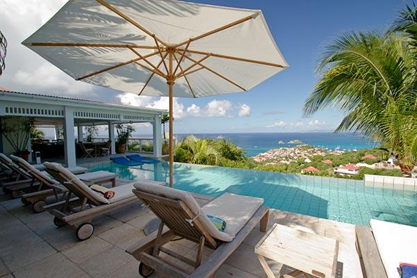 Villa set in tropical garden with incomparable views over Gustavia WV AMI - Image 1 - Lurin - rentals