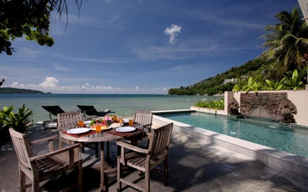 Amazing Sea Front 3 Bedroom Modern Pool Villa in Kalim - pat14 - Image 1 - Patong - rentals