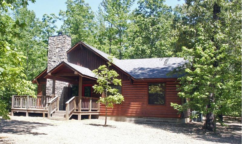 Summer view of Whisperwind Cabin - Whisperwind Cabin - 2bed/2bath  furnished  cabin - Broken Bow - rentals