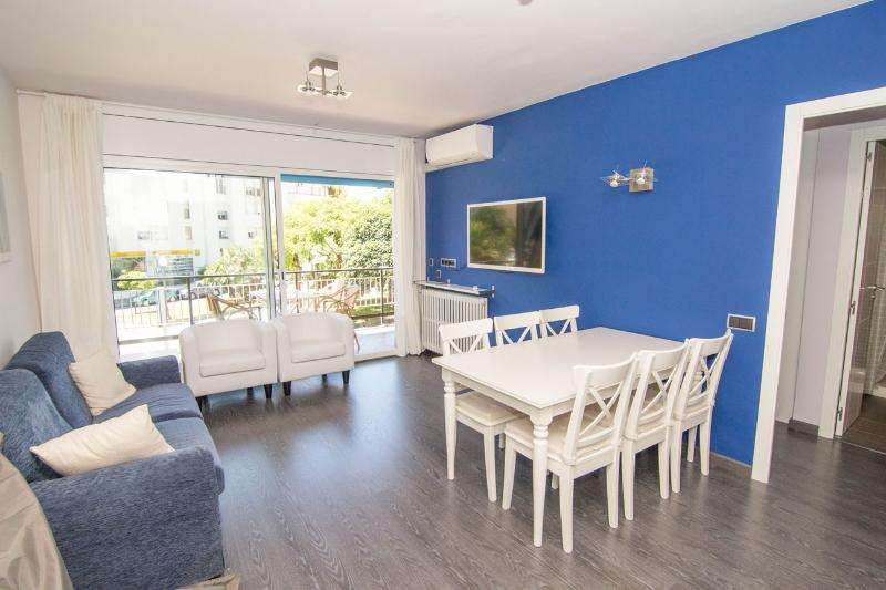 Living room - SIBARIS Large and central apartment - Sitges - rentals