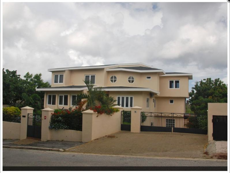 Front view villa with parking lot - Grand villa for 8 persons with magnificent view - Willemstad - rentals