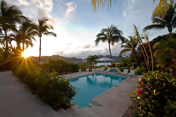 Private villa with beautiful landscaping that's close to everything WV ADO - Image 1 - Saint Jean - rentals