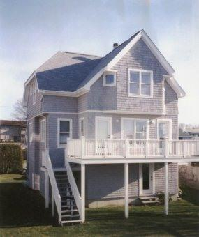 House and deck facing the beach - Seaside Vacation Home on Oceanfront Compound - Newport - rentals