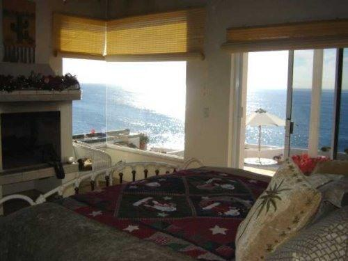 Master Suite & view from the King Feather Bed - ROSARITO BED & BREAKFAST OCEAN FRONT VILLA - Jatay - rentals