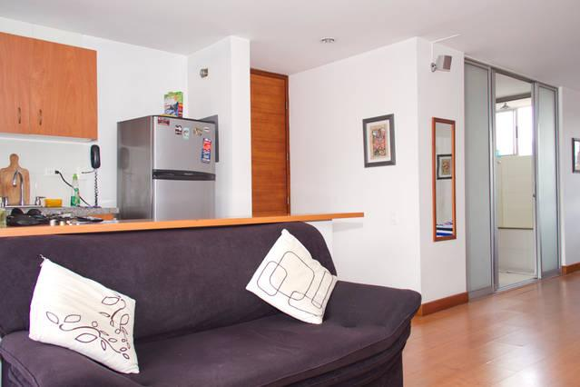 Medellin, Studio Close To Parque Lleras And Eafit - Image 1 - Medellin - rentals