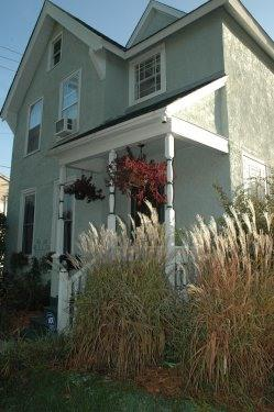Front entry - European city life - charming Victorian  St. Paul - Hugo - rentals